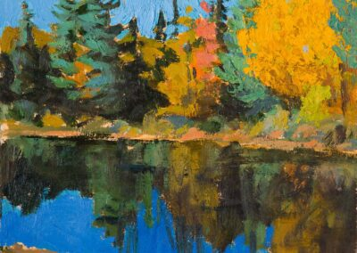 Foothold, Oxtongue River, 2021