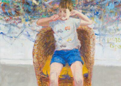 Finn, painting by Allan Macdonald
